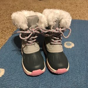 Carters toddler girl snow boots